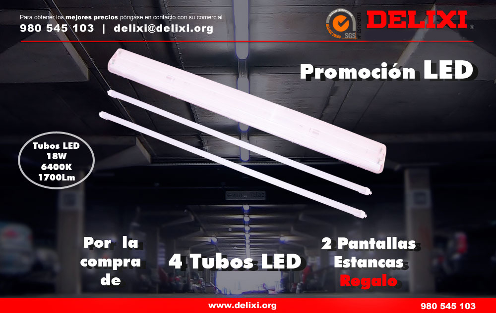 DELIXI. Promoción LED