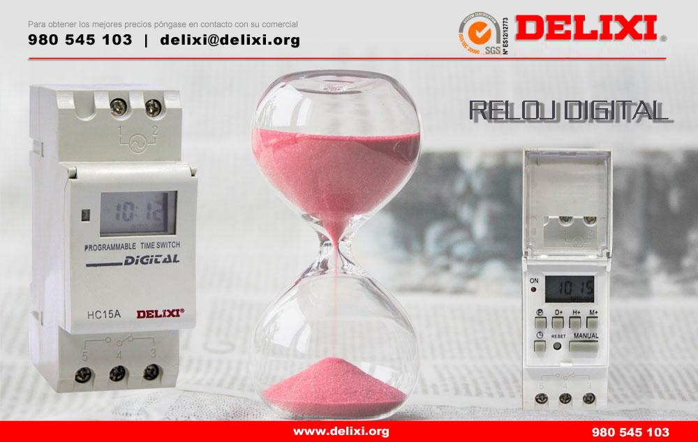 DELIXI. Reloj digital