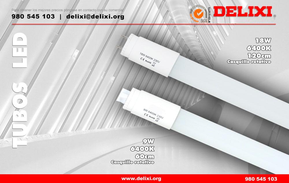 DELIXI. Tubos LED