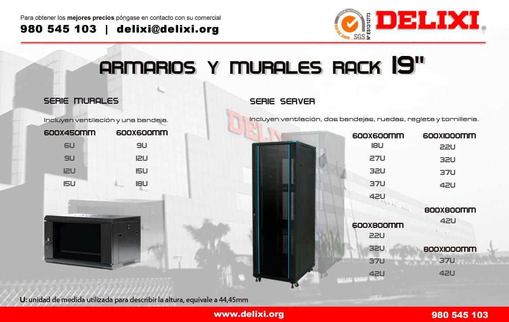 DELIXI. Armarios y Murales Rack