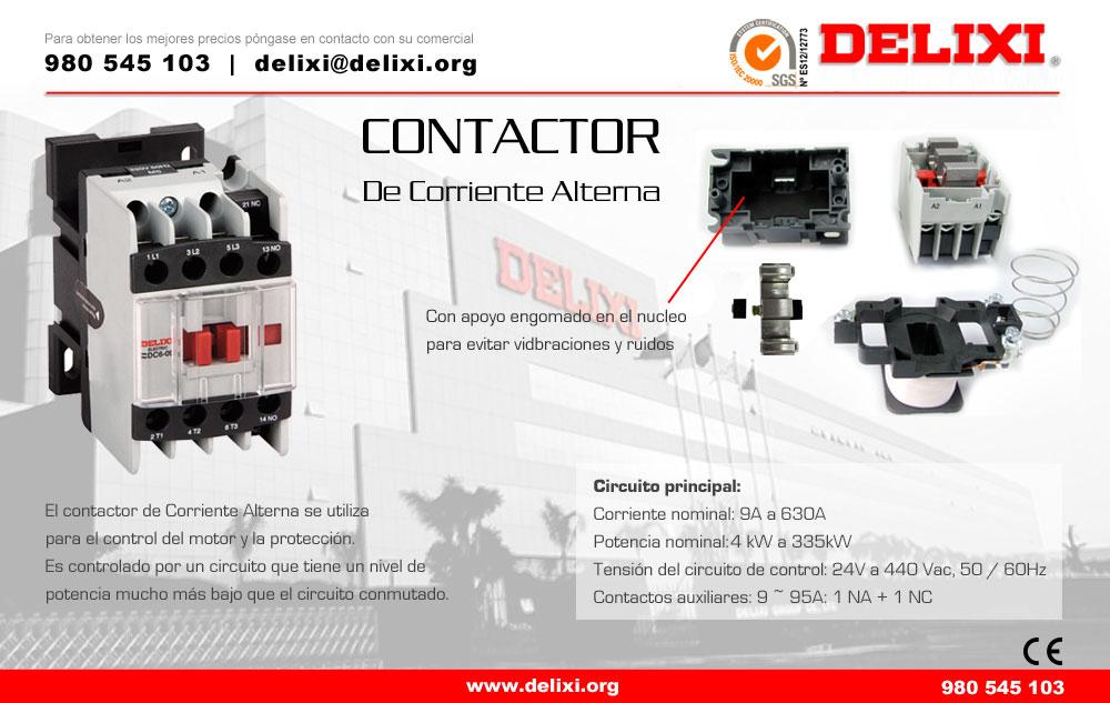 DELIXI contactor