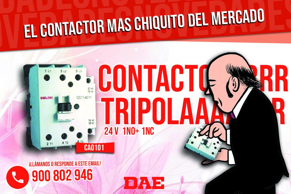 EL CONTACTOR TRIPOLAR MAS PEQUEÑO