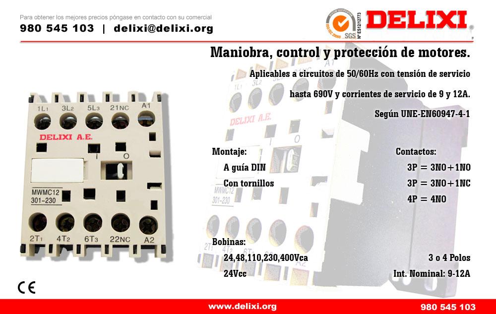 DELIXI. Mini-contactores
