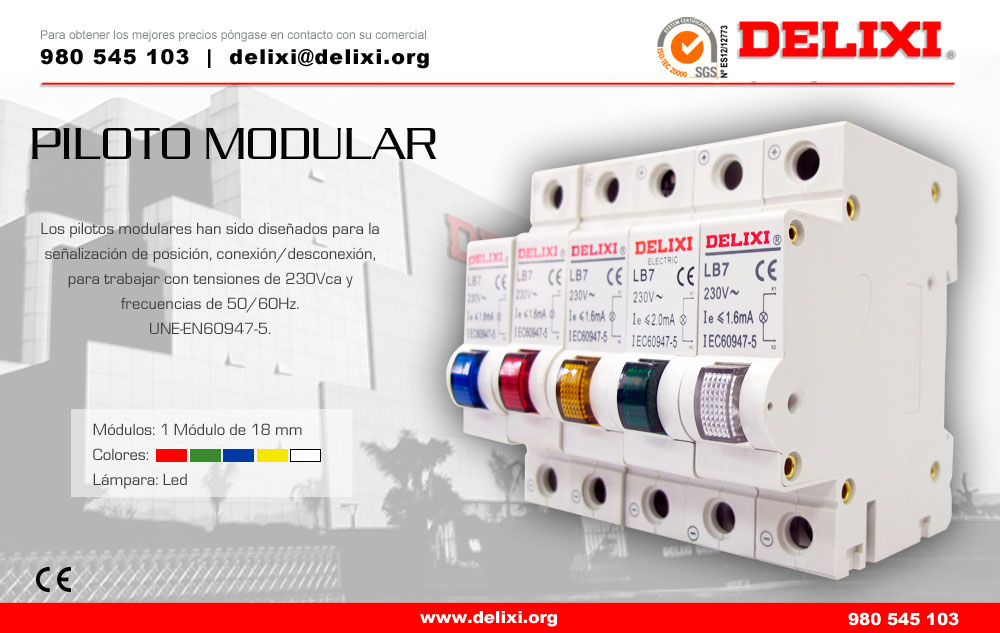 DELIXI piloto modular