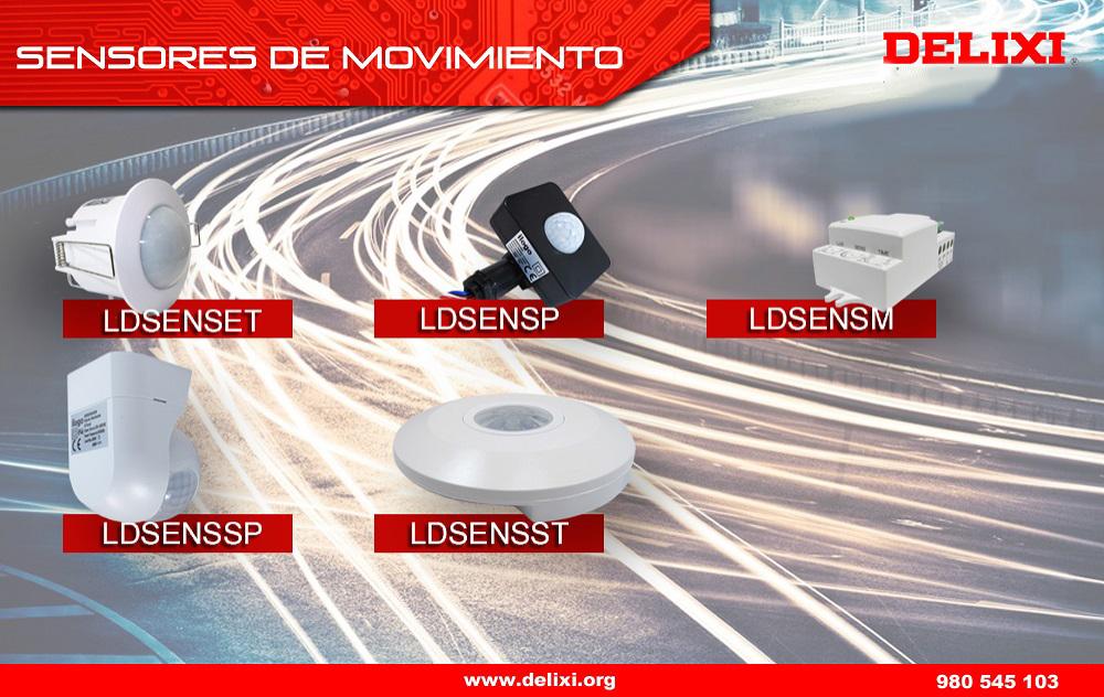 DELIXI. Sensores de Movimiento